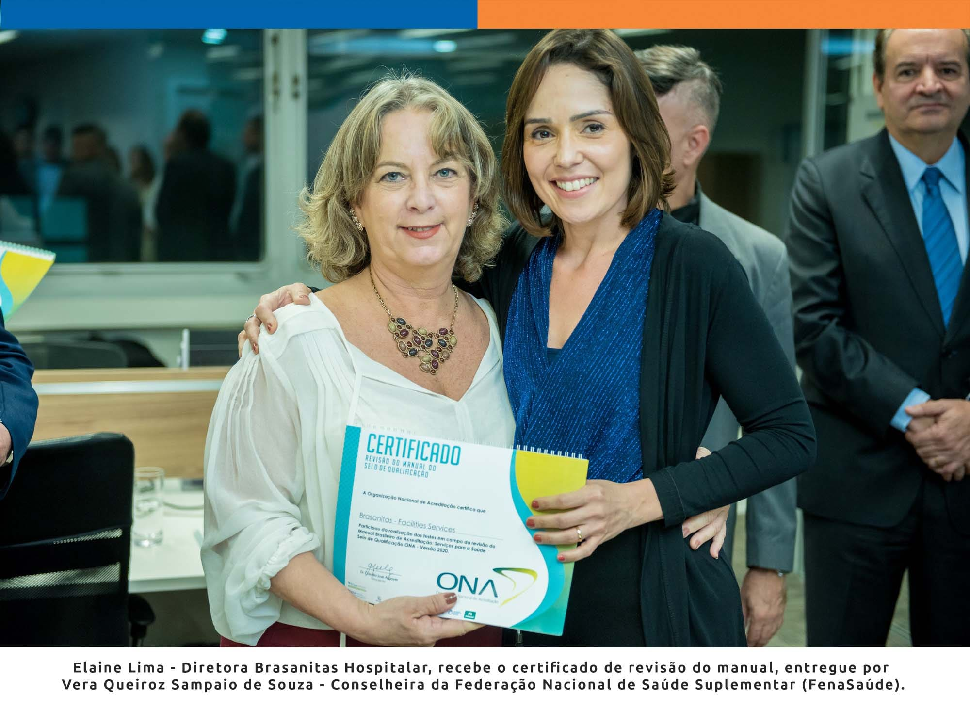 ONA lança manual de certificação de serviços para saúde com apoio da Brasanitas